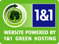 Website Powered by1 & 1 Green Hosting